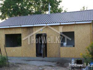 Деревянные дома Алматы