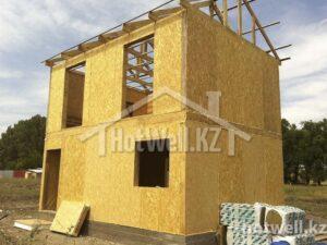 Как построить дом по пенсионке в Алматы