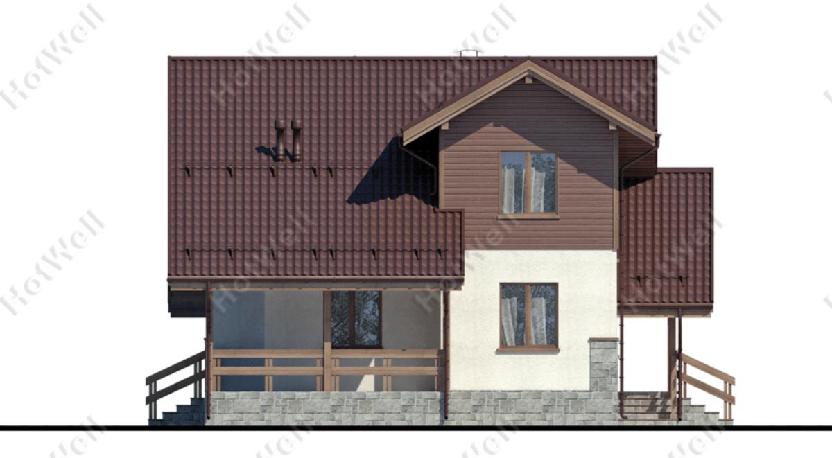 Дома из СИП панелей Алматы c013
