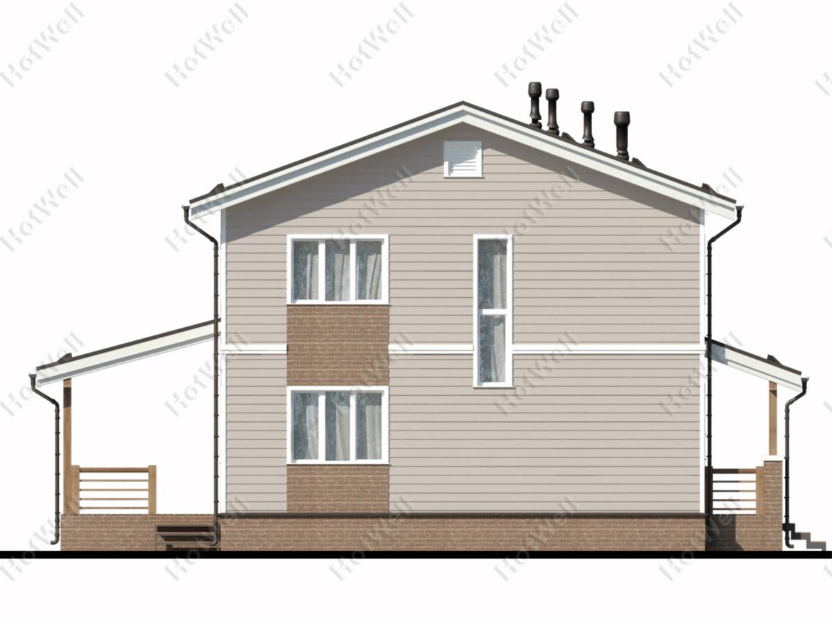 Проекты СИП домов Алматы c022