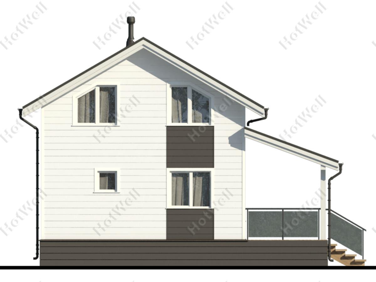 Купить сборный дом из сип панелей Алматы