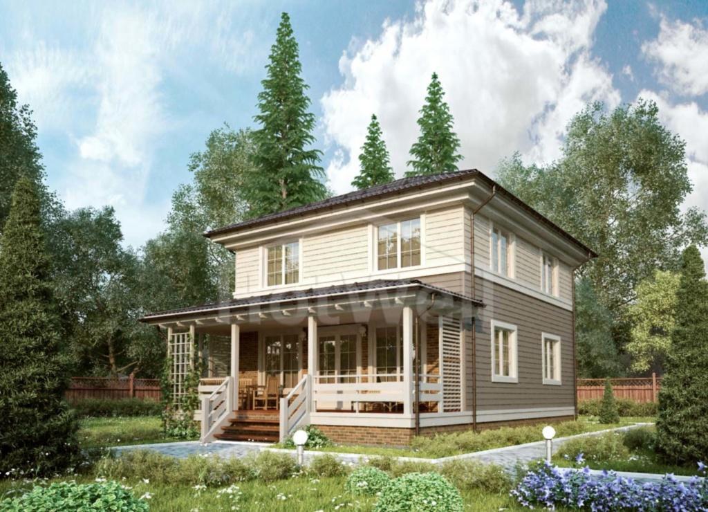 Проекты домов из СИП панелей Алматы от 150 до 200м2