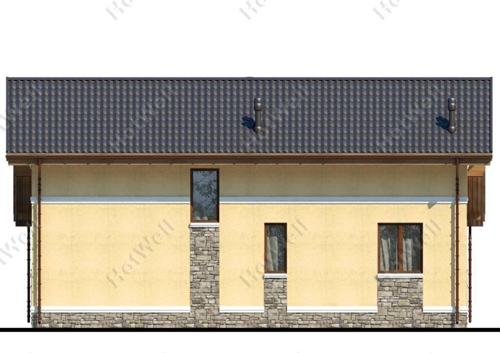 Быстровозводимые дома из СИП панелей Алматы c009