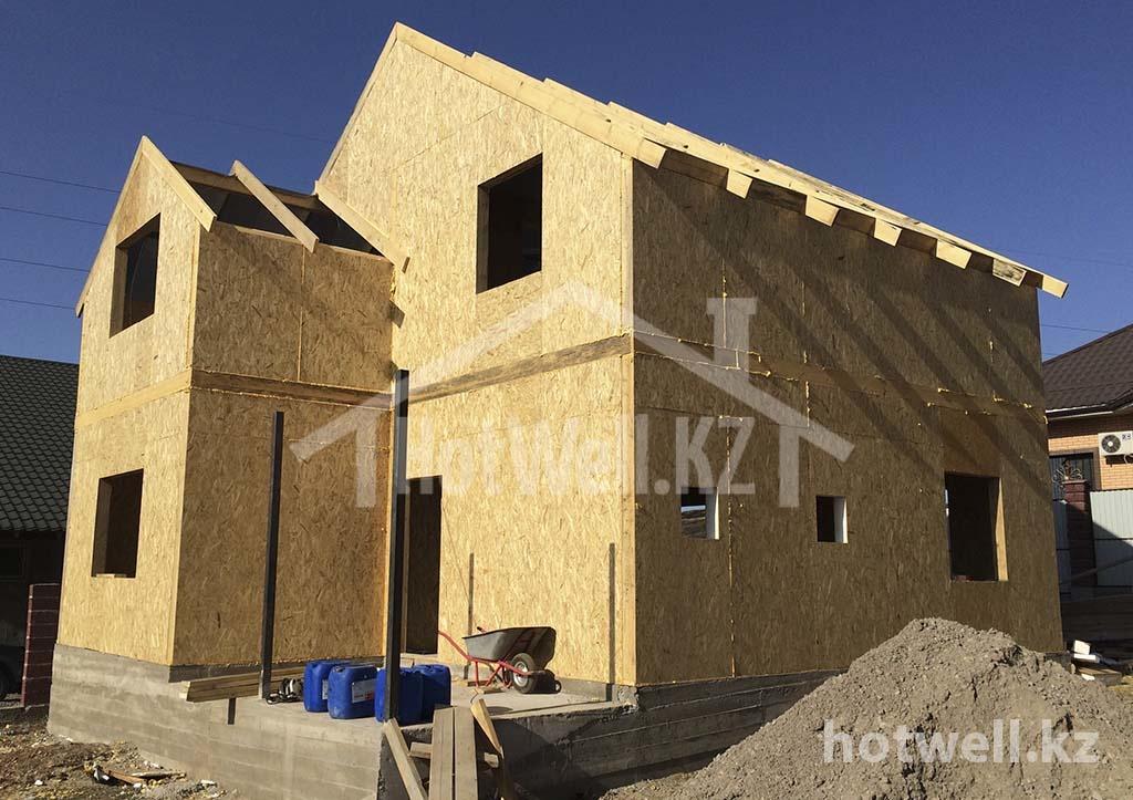 Б-173 Поэтапное строительство дома