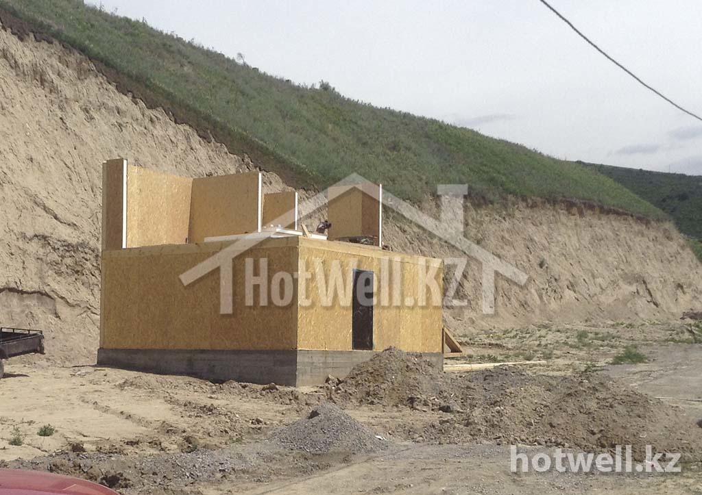 Сергей дом из СИП панелей Алматы