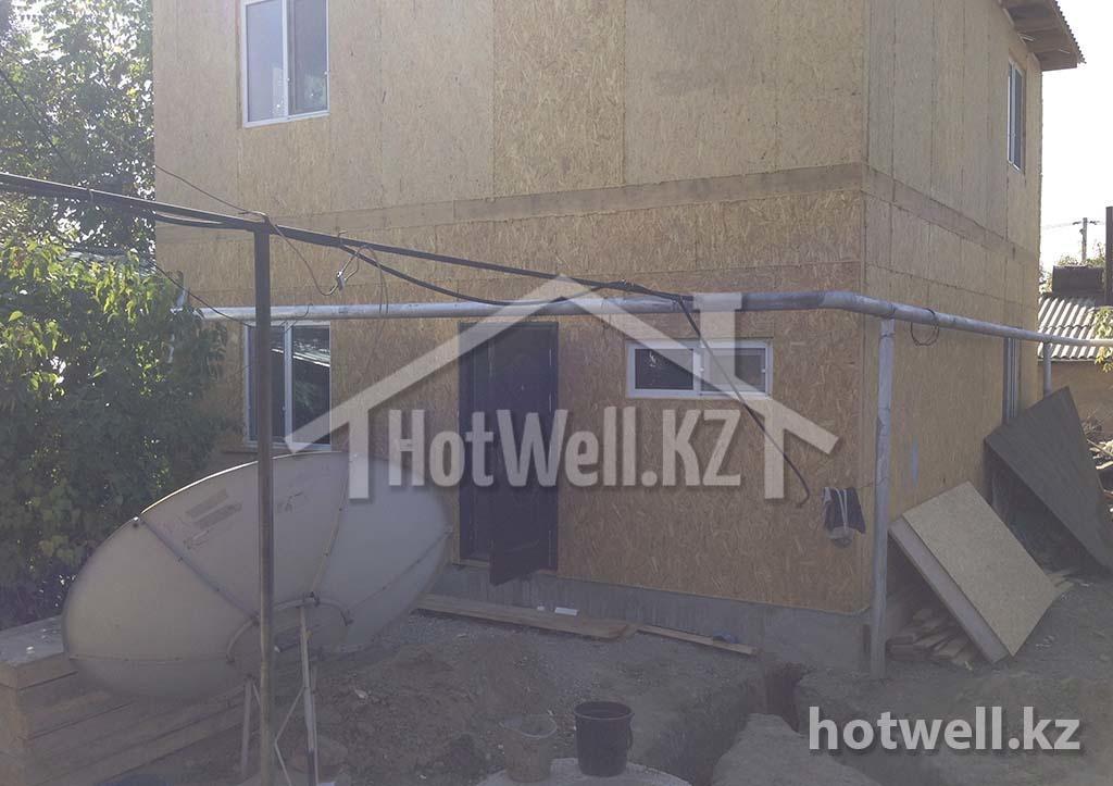 Р-126 Дом из СИП панелей рабочий поселок Алматы