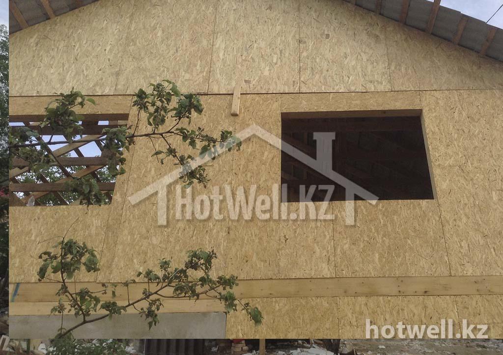 К-129 Дом из СИП панелей Каскелен