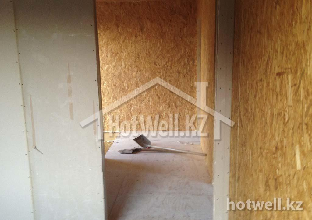 Б-113 Дом из СИП панелей строительство