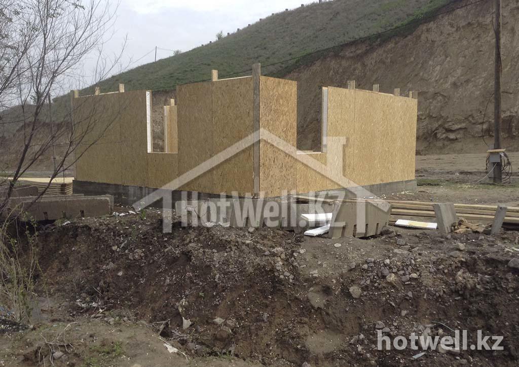 Проект дома из СИП панелей Б-119