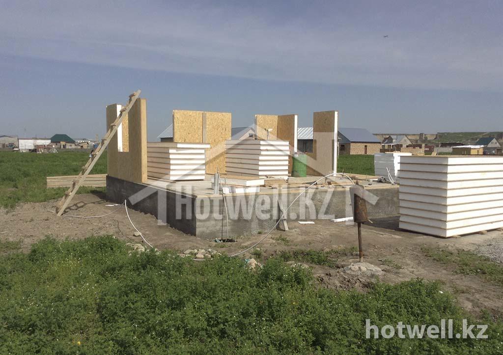 Проект дома из СИП панелей Б-119 Алматы