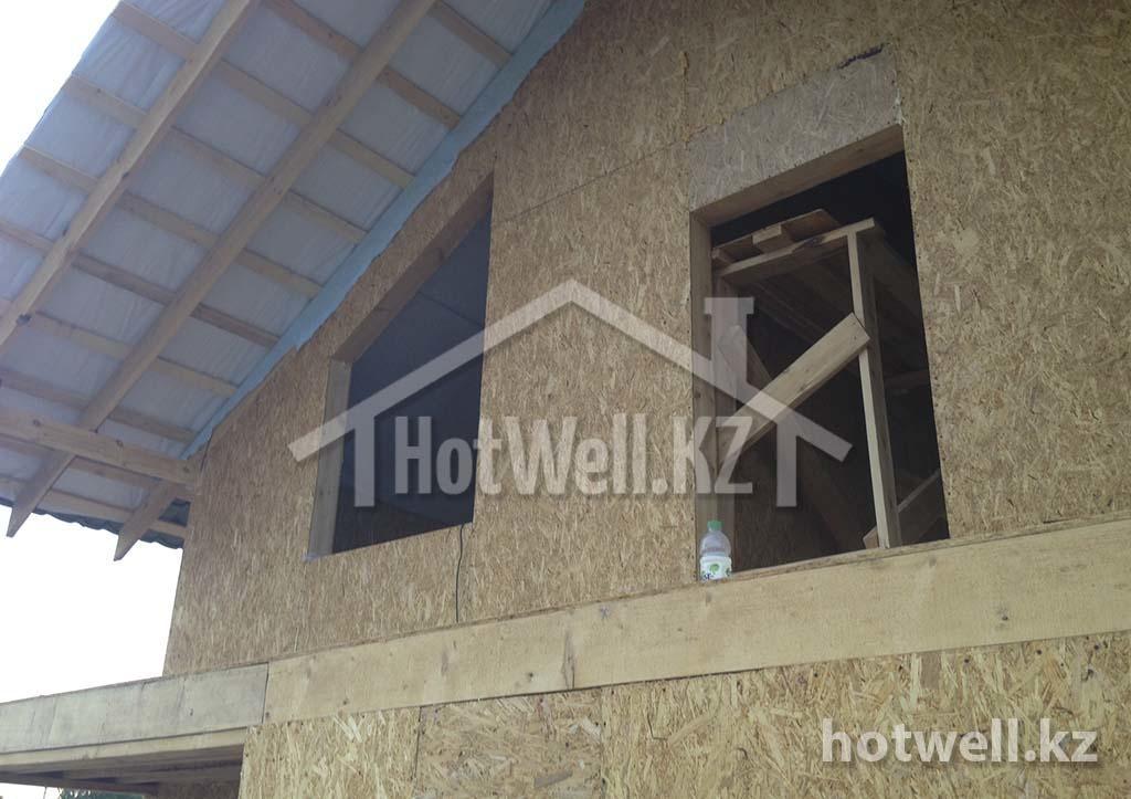 К-100 дом из сип панелей