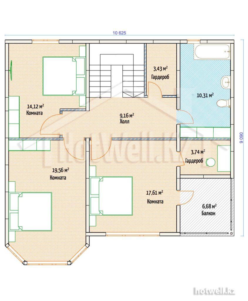 Строительство домов из СИП панелей цена Нурсултан