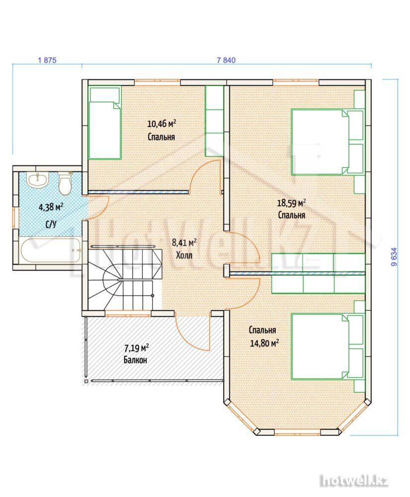 Дачный дом из сип панелей купить