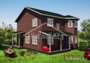Проекты домов из СИП панелей 6стр.