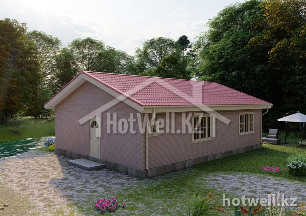 Лучшая цена на дома из СИП панелей в Алматы
