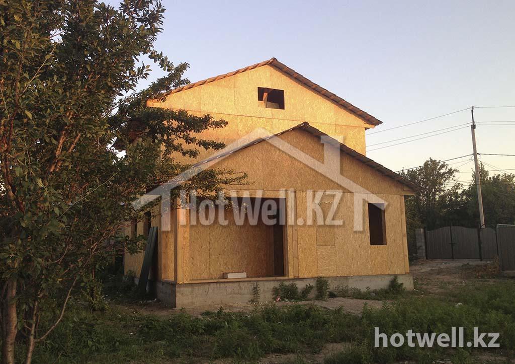 сип каркасный дом