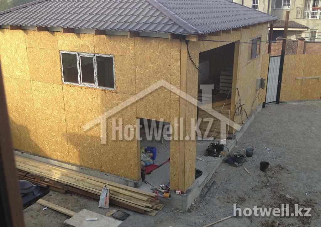 построить из сип панелей гараж алматы