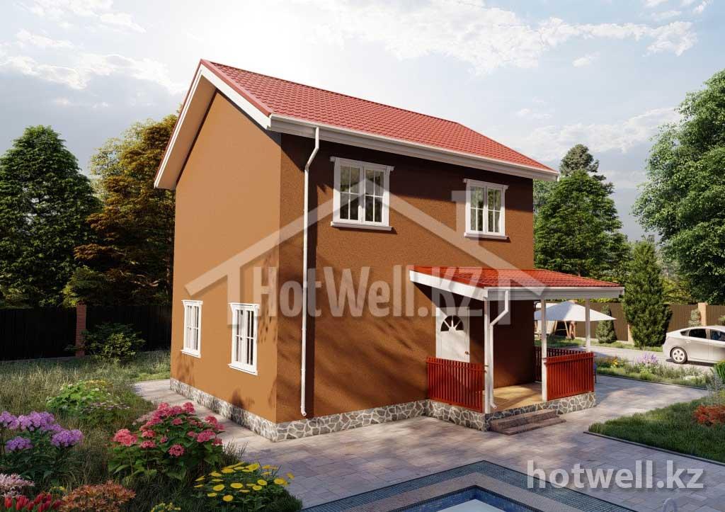 Производство и строительство домов из СИП панелей в Алматы. Самые низкие цены!!! Продажа сэндвич панелей (SIP) в Казахстане.