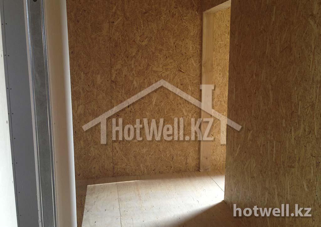 перекрытие пола в доме из сип панелей алматы
