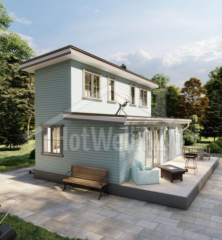дом норвежский