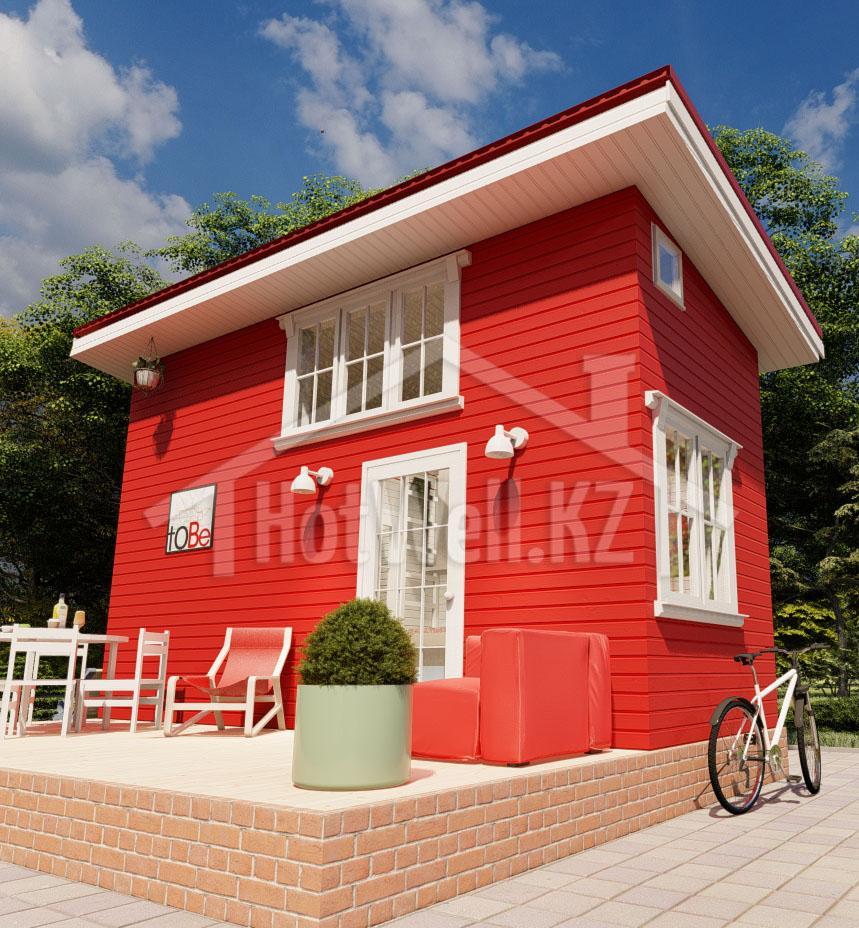 Норвежский дом в алматы 2