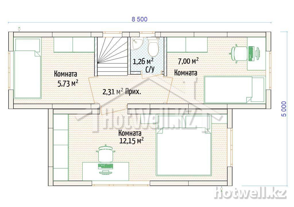 Норвежские дома в Алматы