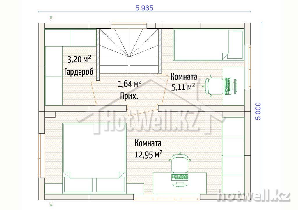 норвежский дом цена в Алматы