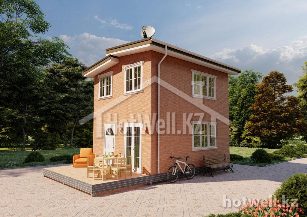 норвежский дом за день