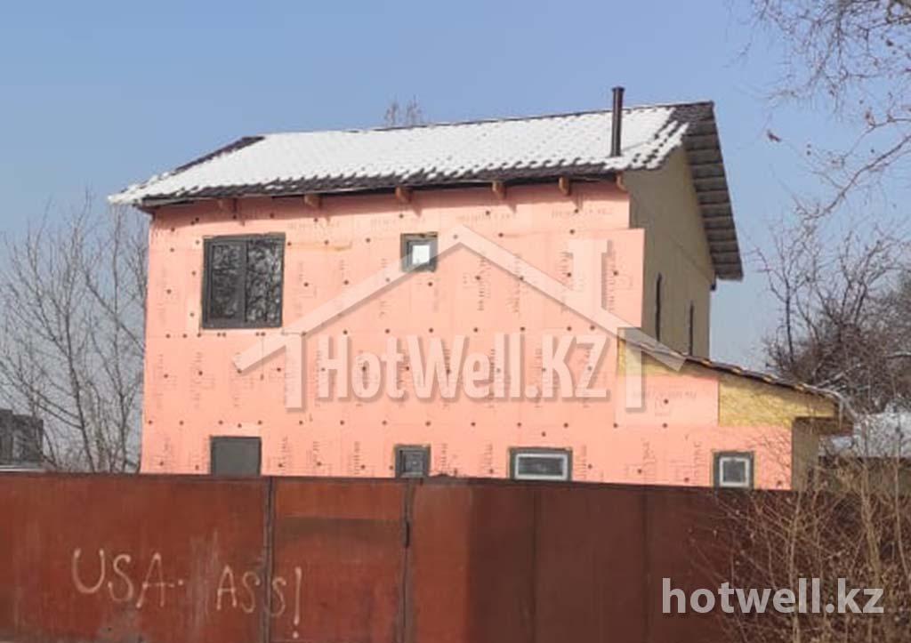 Дом строительство