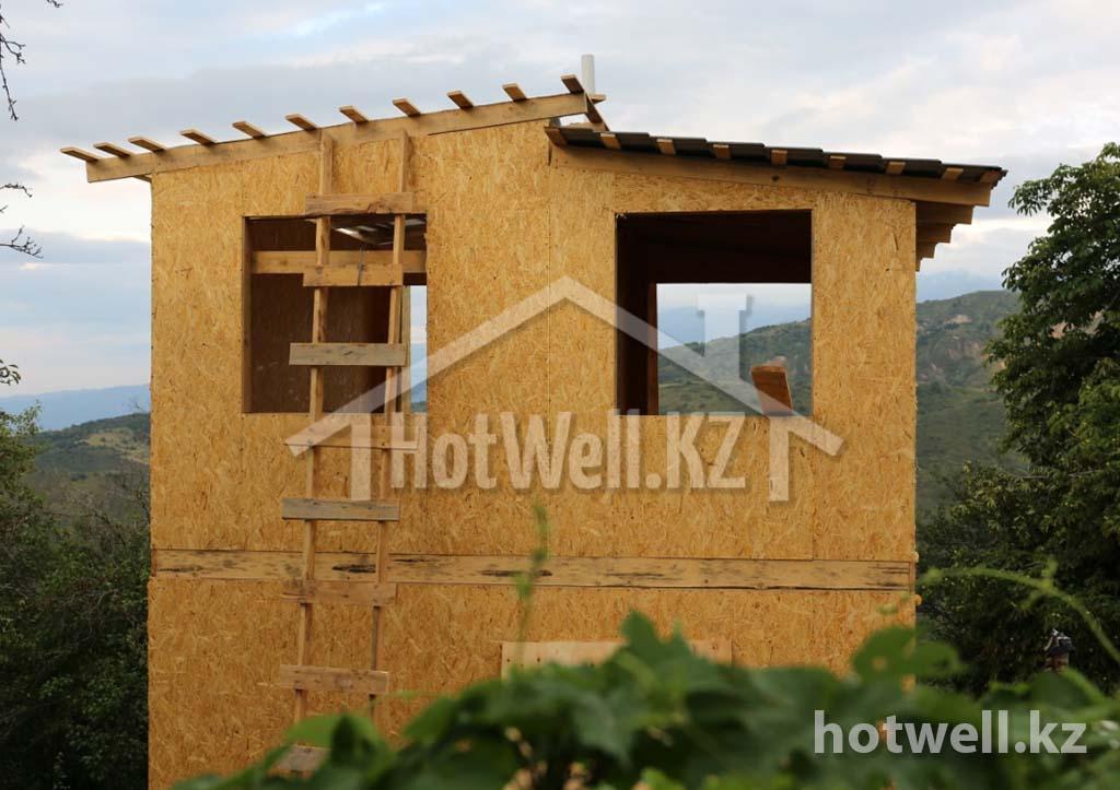 строительство каркасных домов алматы