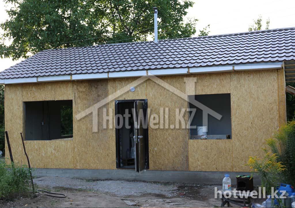 Дом из СИП панелей иссык